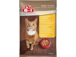 8in1 Katzennassfutter mit Pute in Sauce