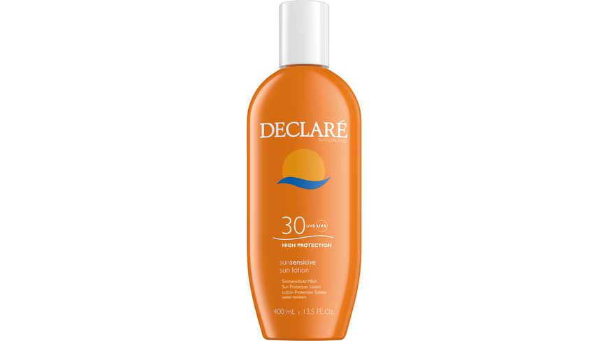 DECLARE Sunsensitive sun lotion