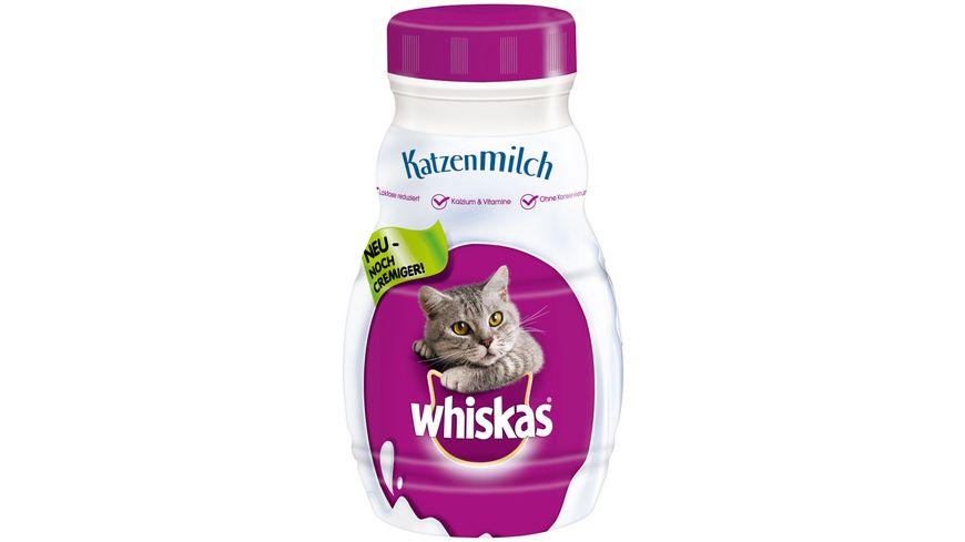 Whiskas Katzenmilch 6er