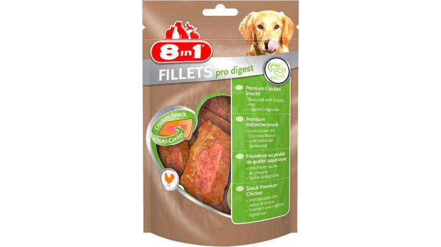 8in1 Hundeleckerli Fillets Pro Digest