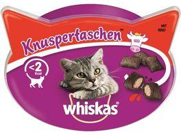 Whiskas Katzensnack Knuspertaschen Rind