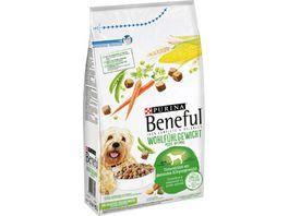 Purina Beneful Hundetrockenfutter Wohlfuehlgewicht mit Huhn Gartengemuese Vitaminen