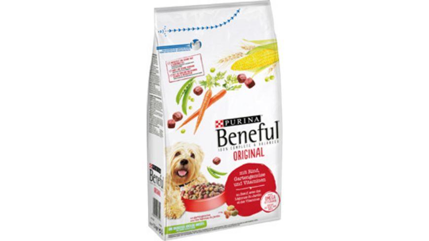 Purina Beneful Hundetrockenfutter Original mit Rind & Gemüse