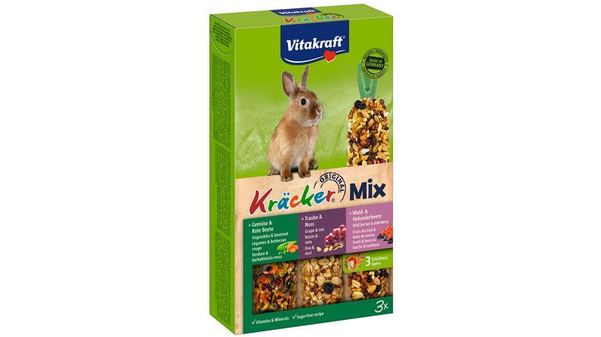 Vitakraft Kraecker Trio Mix Gemuese Nuss Waldbeere