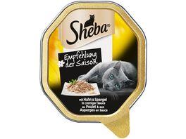 Sheba Katzennassfutter Empfehlung der Saison