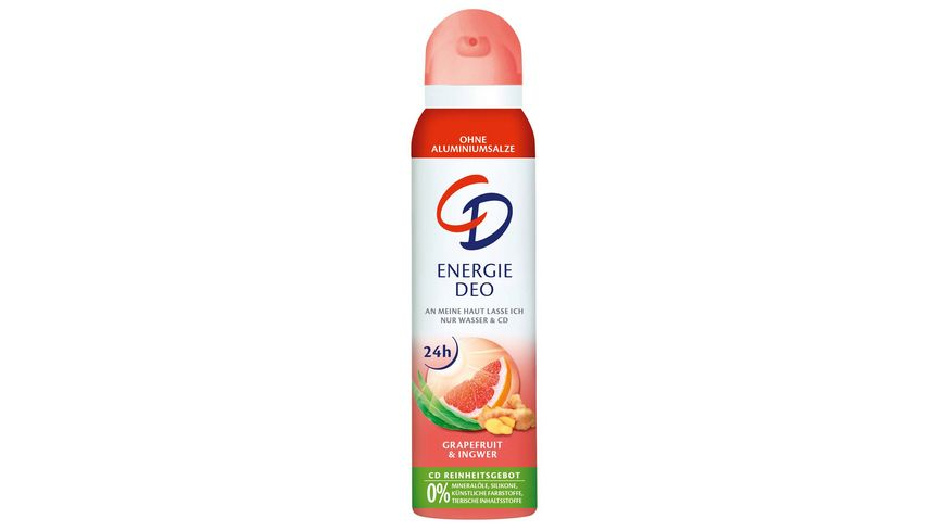 CD Energie Deo Spray Grapefruit Ingwer