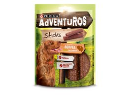 Purina Hundeleckerlis AdVENTuROS Sticks mit Bueffelgeschmack