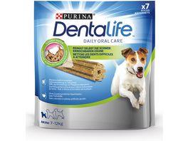 Purina DentaLife Mini Taegliche Zahnpflege Snacks fuer kleine Hunde