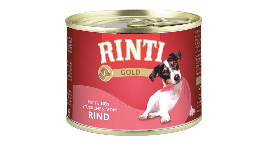 RINTI Hundenassfutter Gold Rind