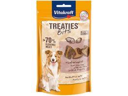 Vitakraft Hundesnack Treaties Bits Leberwurst