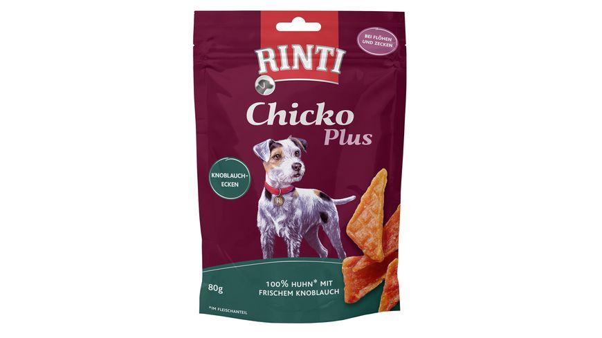 RINTI Hundesnack Chicko Plus Knoblauch Ecken