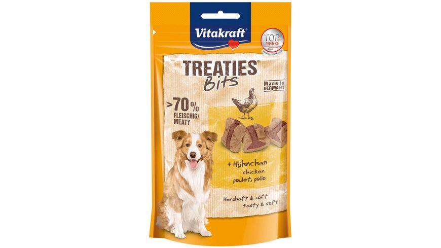 Vitakraft Hundesnack Treaties Bits Huehnchen Bacon Style