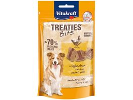Vitakraft Hundesnack Treaties Bits Huehnchen Bacon Style