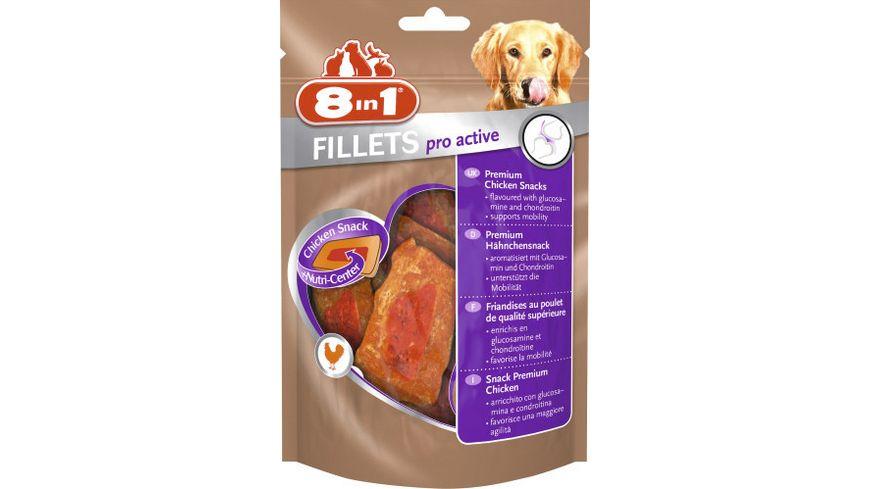 8in1 Hundeleckerli Fillets Pro Active