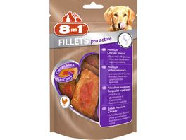 8in1 Hundeleckerli Fillets Pro Active