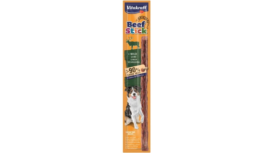 Vitakraft Hundesnack Beef Stick Original Wild