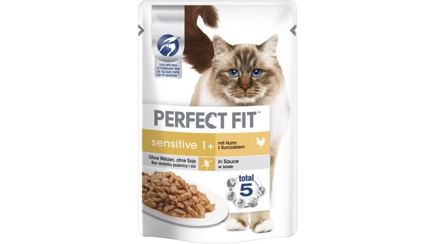 PERFECT FIT KATZE Katzennassfutter Portionsbeutel Sensitive Huhn