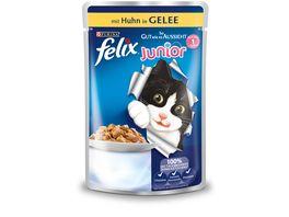 felix Katzennassfutter So gut wie es aussieht in Gelee Junior mit Huhn