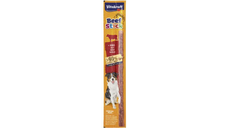 Vitakraft Hundesnack Beef Stick Original Rind