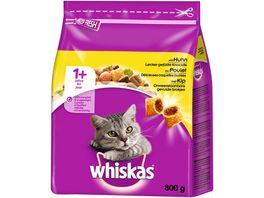 Whiskas Katzentrockenfutter 1 mit Huhn