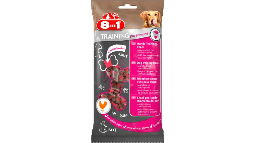 8in1 Hundesnack Training Pro Immune