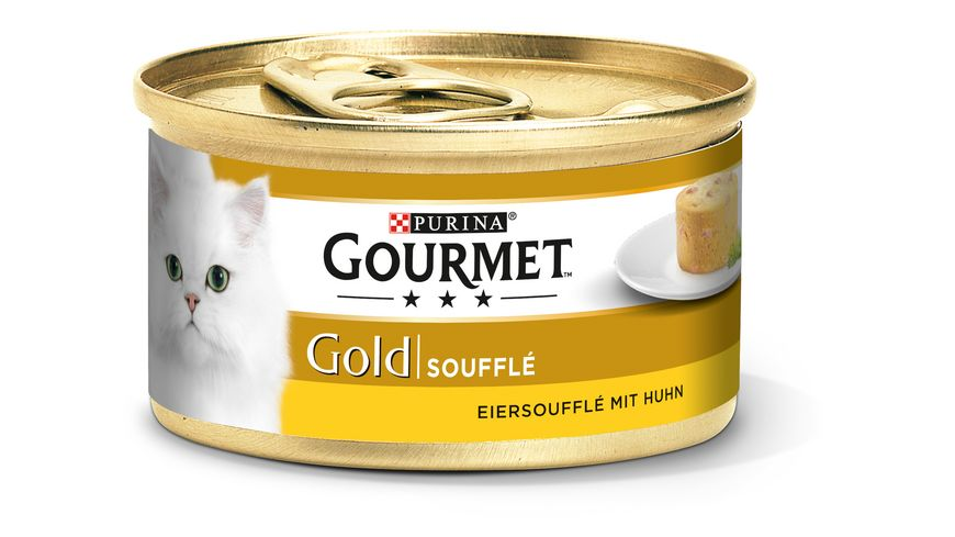 Purina GOURMET Katzennassfutter Gold Souffle mit Huhn