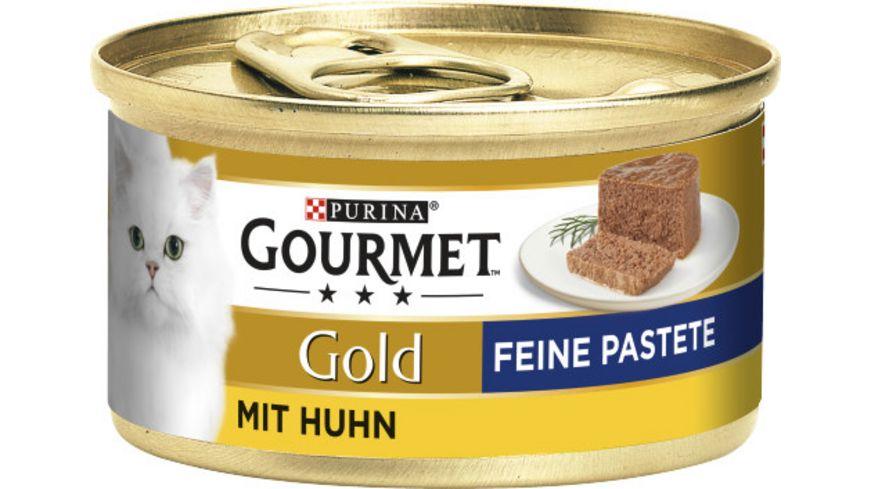 Purina GOURMET Katzennassfutter Gold Feine Pastete mit Huhn