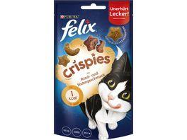 felix Katzensnacks Crispies mit Rind Huhngeschmack