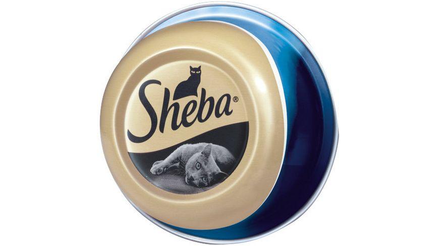 Sheba Katzennassfutter Feine Filets mit Thunfischfilets