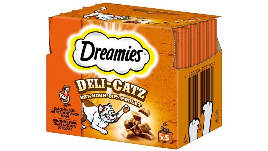 Dreamies Katzensnack DELI CATZ Huhn