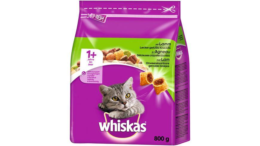 Whiskas Katzentrockenfutter 1 mit Lamm