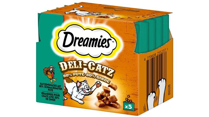 Dreamies Katzensnack DELI CATZ Pute