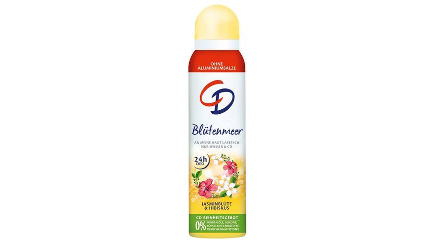CD Bluetenmeer Deo Spray Jaminbluete Hibiskus