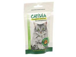 CATIVIA Katzensnack Anti Hairball mit Gefluegel
