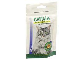CATIVIA Katzensnack Dental mit Ente