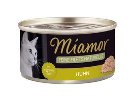 Miamor Katzennassfutter Feine Filets naturelle Huhn