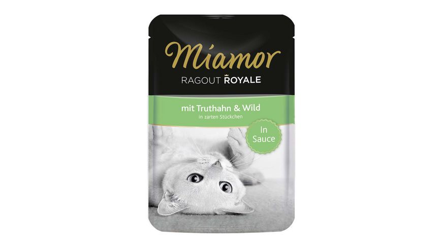 Miamor Katzennassfutter Ragout Royale in Sauce Truthahn Wild