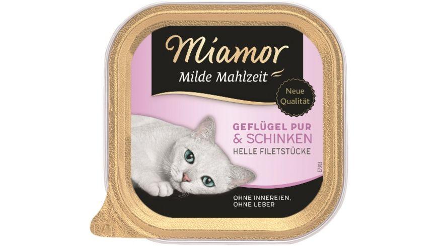 Miamor Milde Mahlzeit Gefluegel Pur Schinken