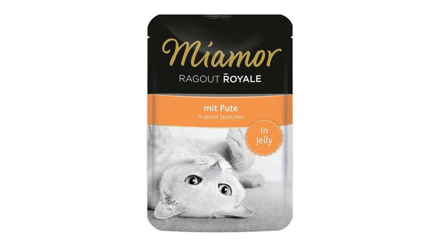 Miamor Katzennassfutter Ragout Royale Pute