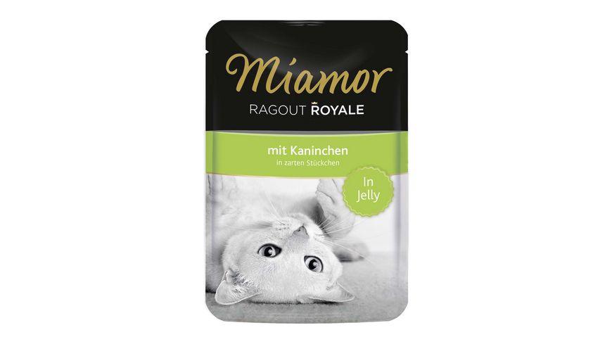 Miamor Katzennassfutter Ragout Royale Kaninchen