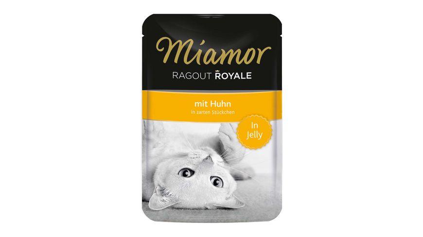 Miamor Katzennassfutter Ragout Royale Huhn