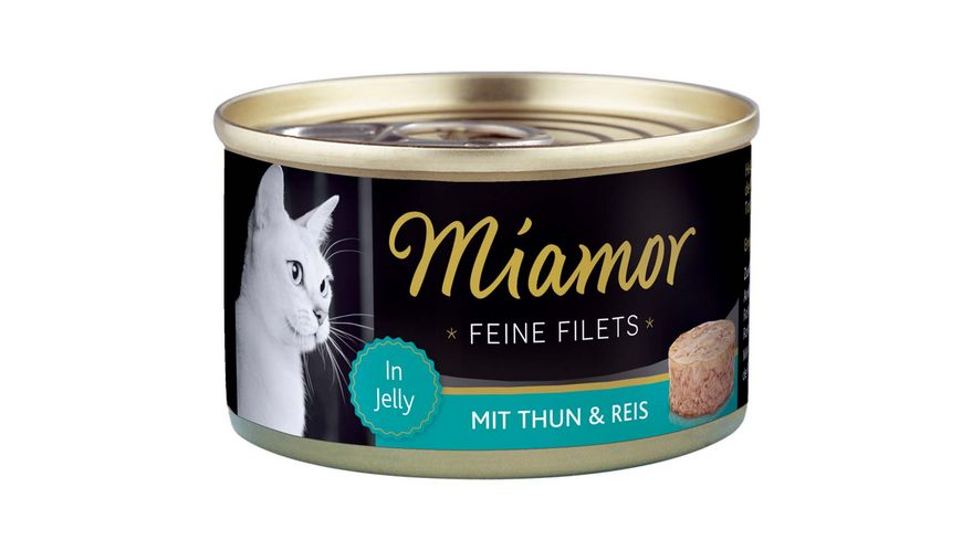 Miamor Katzennassfutter Feine Filets Thunfisch Reis