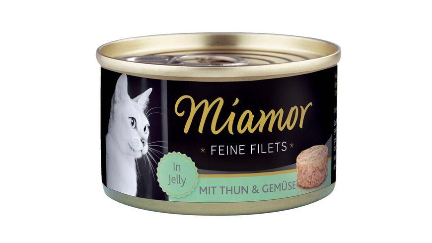 Miamor Katzennassfutter Feine Filets Thunfisch Gemuese