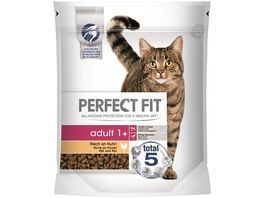 PERFECT FIT KATZE Trockenfutter ADULT 1 Reich an Huhn