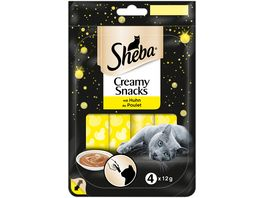 Sheba Creamy Snacks mit Huhn