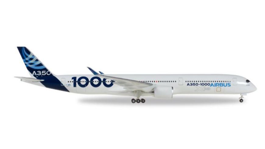 Herpa 531047 Airbus A350 1000 1st Prototype F WMIL