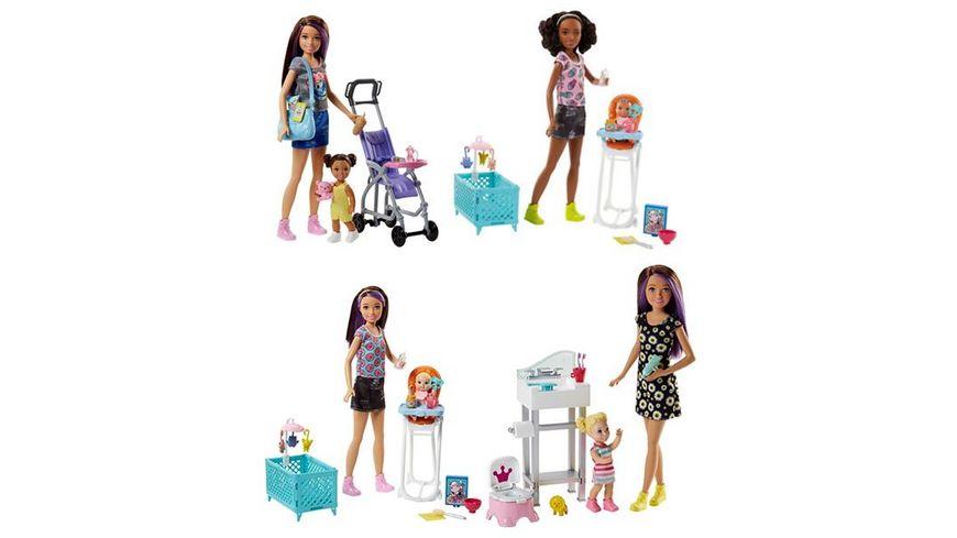 Mattel Barbie Skipper Babysitters Inc Skipper Puppen und Spielset sortiert