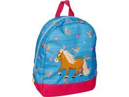 Die Spiegelburg Rucksack blau Mein kleiner Ponyhof
