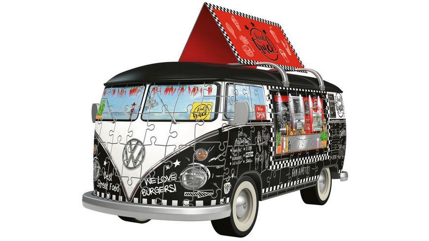 Ravensburger Puzzle 3D Puzzle Sonderformen Volkswagen T1 Food Truck 162 Teile