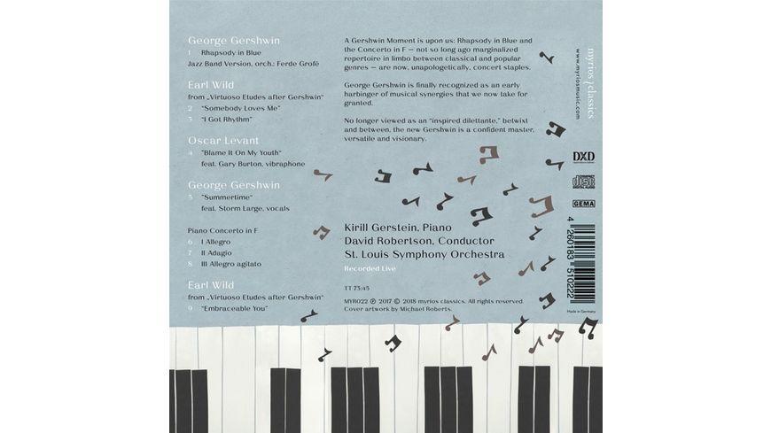 Rhapsody In Blue Concerto In F